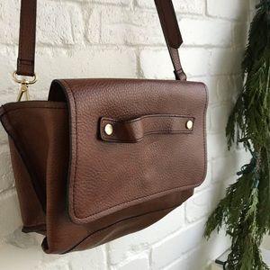 Zara Trafaluc Brown Iike new Crossbody Handbag